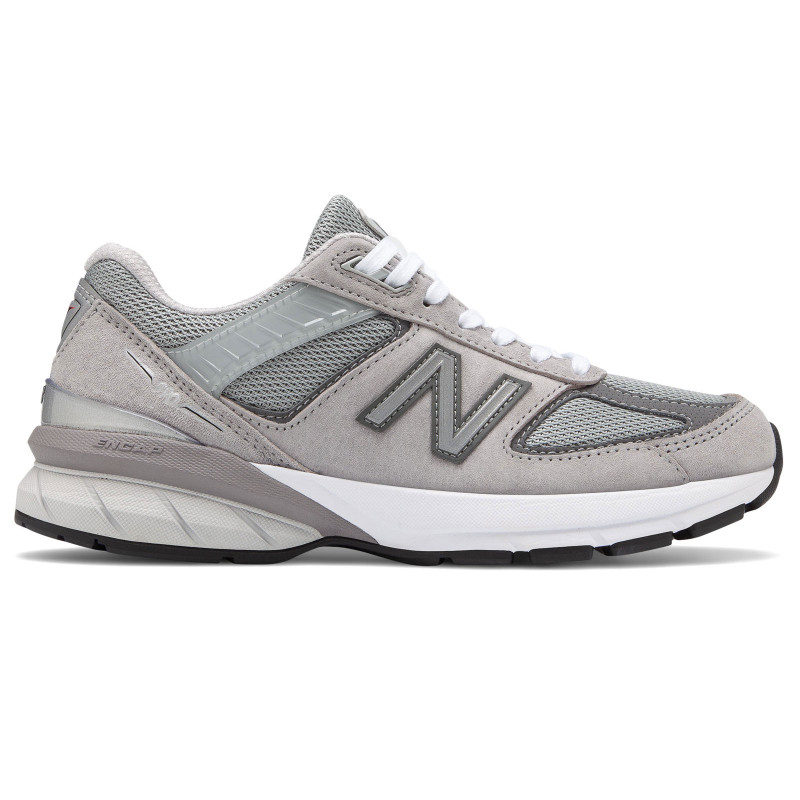 New Balance 990v5 Women's Running - Grey / Castlerock - W990GL5 - Profile