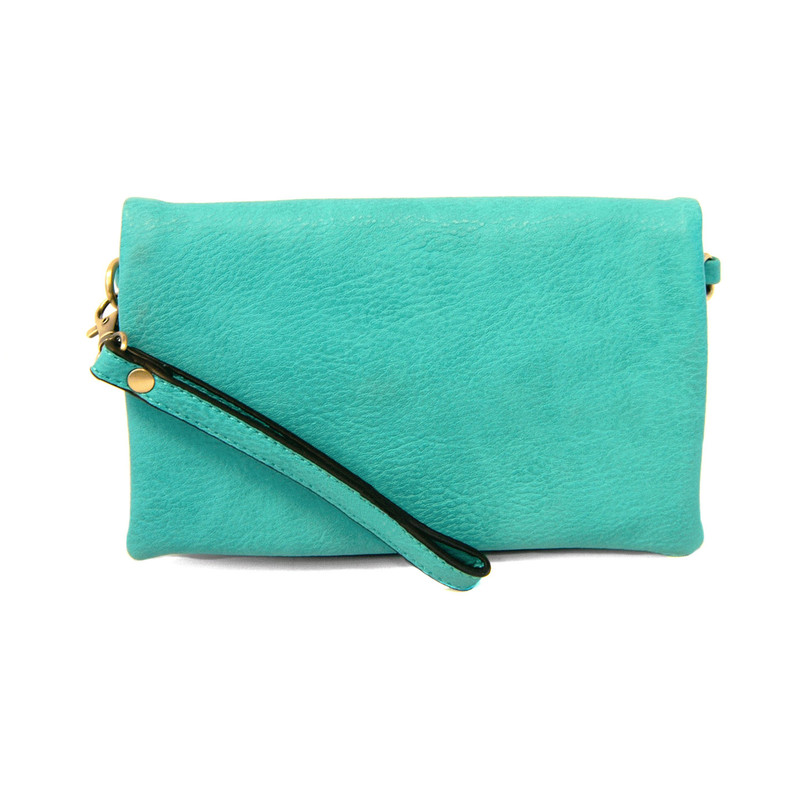 Joy Susan New Kate Crossbody Clutch - Aqua - L8019-26 - Profile