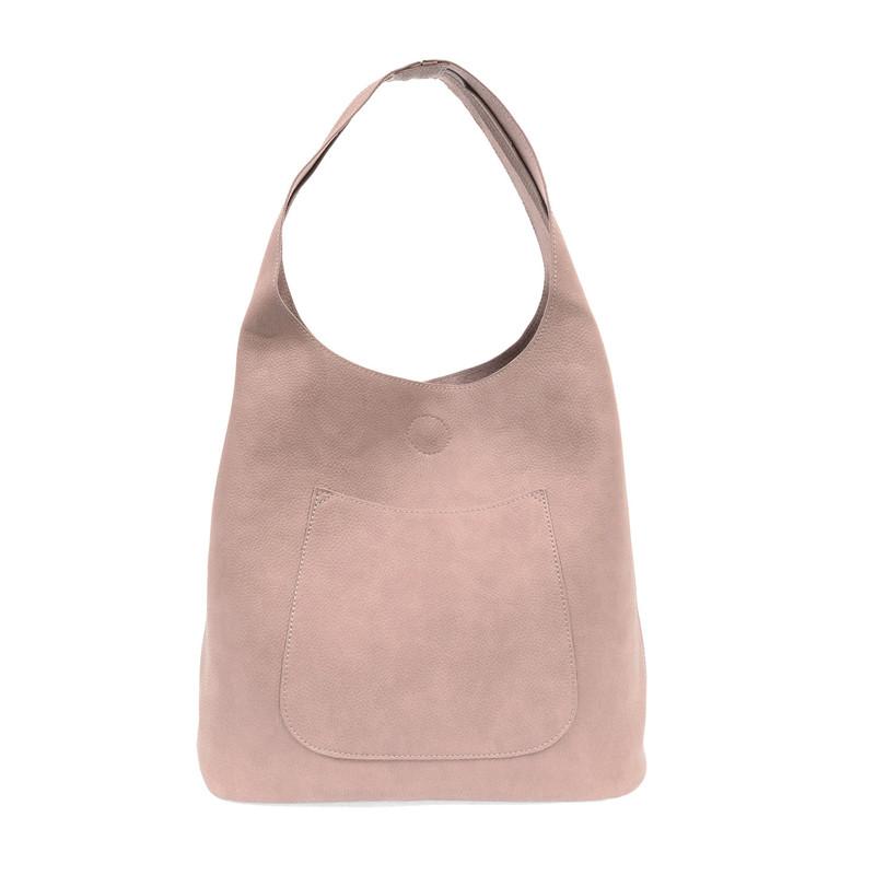 Joy Susan Molly Slouchy Hobo Handbag - Mystic Grey - L8017-95 - Profile