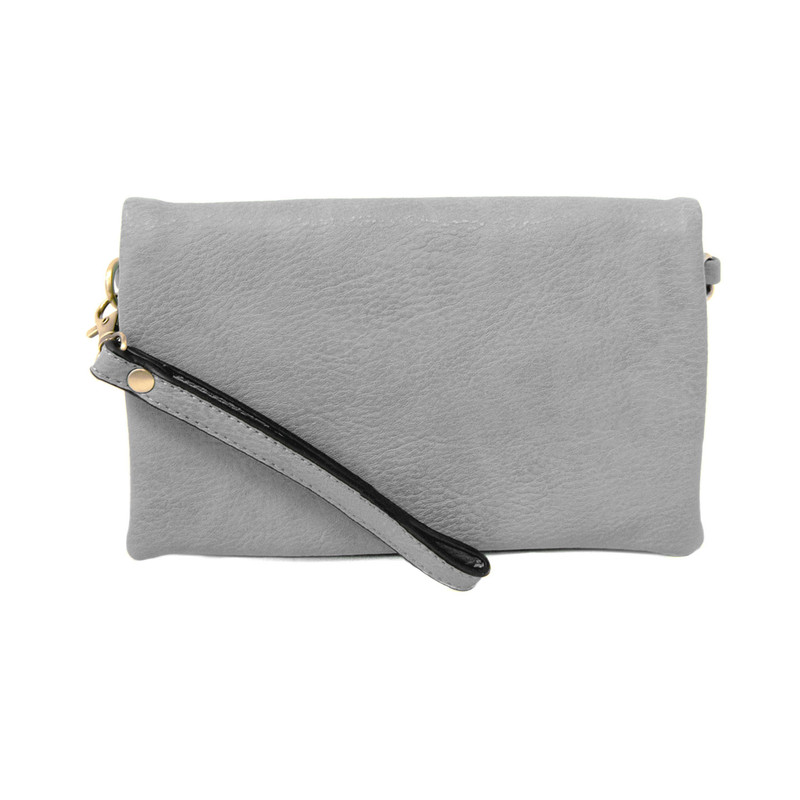 Joy Susan New Kate Crossbody Clutch - Light Grey - L8019-29 - Profile