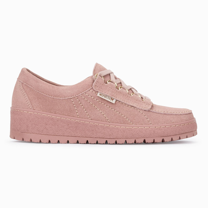 Mephisto Women's Lady - Old Pink Velour - LADY3049 - Profile