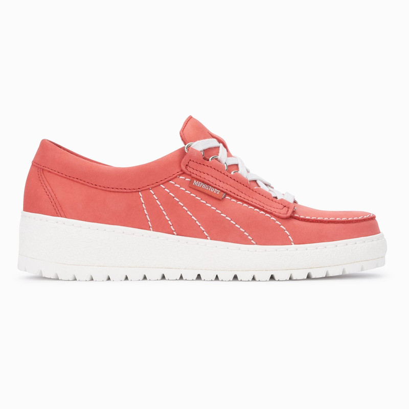 Mephisto Women's Lady - Coral Nubuck - LADY821 - Profile