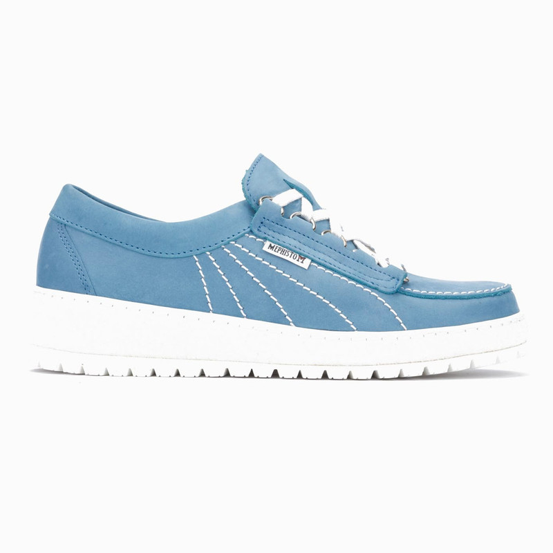 Mephisto Women's Lady - Sea Blue Nubuck - LADY822 - Profile