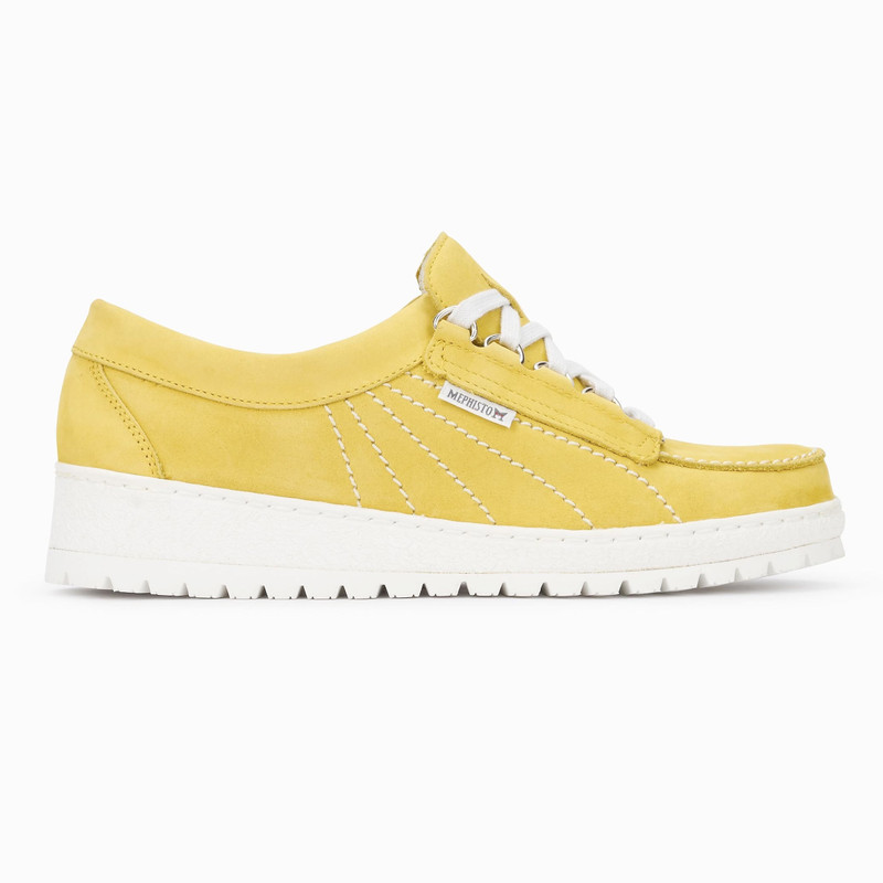 Mephisto Women's Lady - Yellow Nubuck - LADY889 - Profile