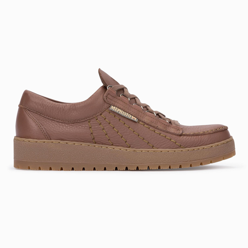 Mephisto Men's Rainbow - Chestnut Oregon - RAINBOW1378 - Profile