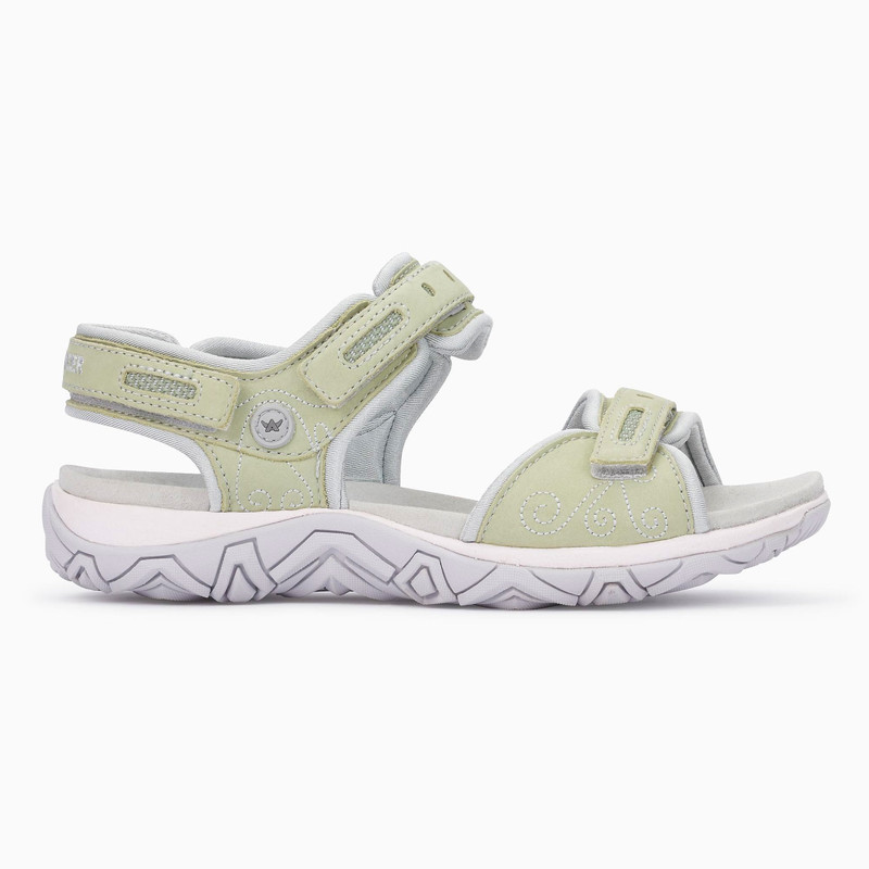 Allrounder Women's Lagoona - Swamp (Light Green) / Glacier Grey Lyrcra - LAGOONA18/06 - Profile