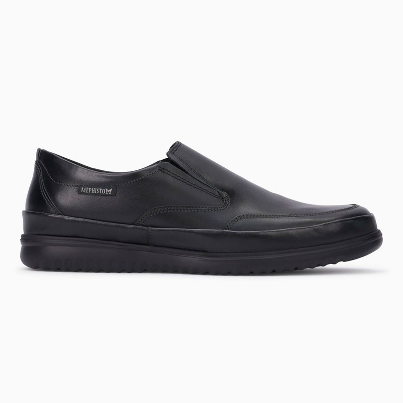 Mephisto Men's Twain - Black Randy - TWAIN6100 - Profile