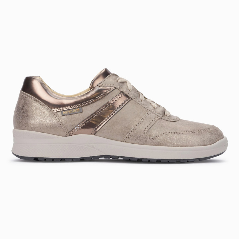 Mephisto Women's Rebeca - Dark Taupe Pipa / Magic - REBECA4665/30065 - Profile