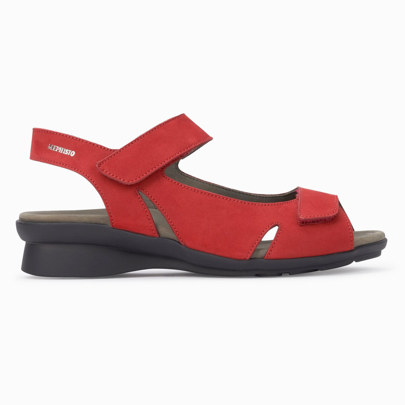 Mephisto Women's Perry - Scarlet Bucksoft - PERRY6941 - Profile