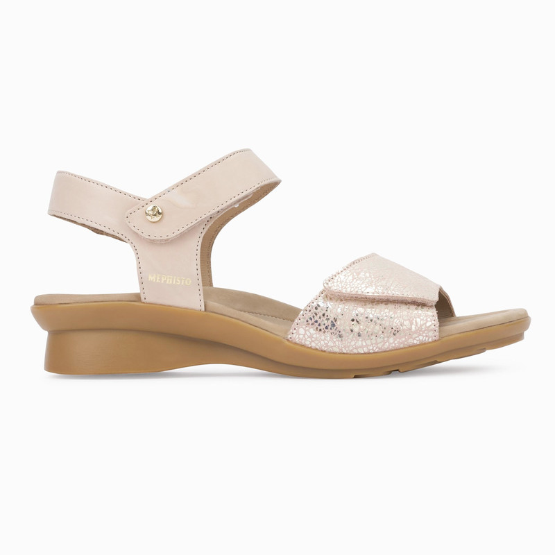 Mephisto Women's Pattie - Light Taupe Silk / Nude Crash - PATTIE7818/13381 - Profile