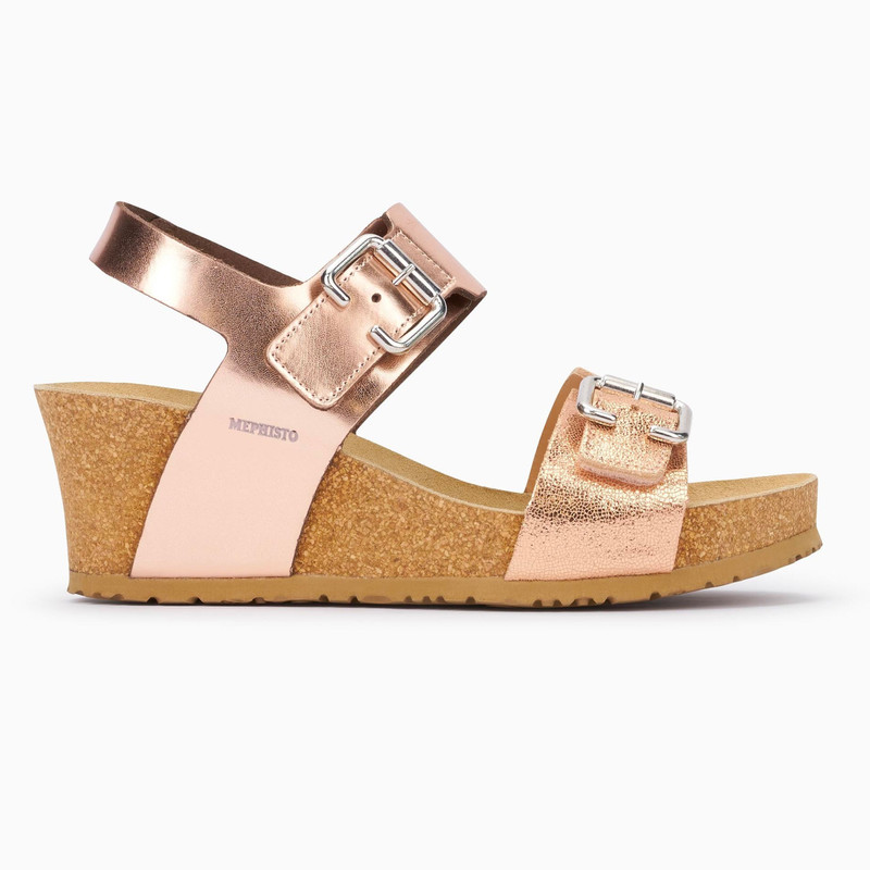 Mephisto Women's Lissandra - Old Pink (Rose Gold) Star / Nude Venise - LISSANDRA42049/19181 - Profile