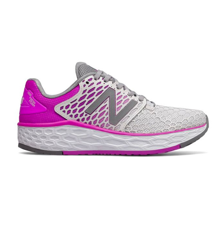 New Balance Women's Fresh Foam Vongo v3 - Grey - wvngogv3 - Profile