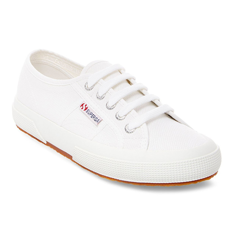 Superga Women's 2750 Cotu Sneaker - White - S000010/WHITE - Main Image