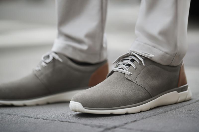 J\u0026M Men's XC4® Prentiss Plain Toe - Gray