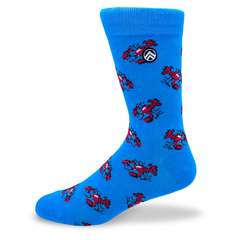 Sky Outfitters Crew Socks - Lobster Shack - Profile