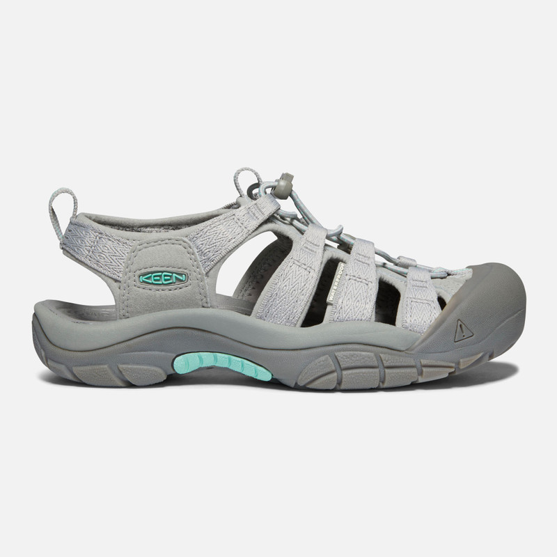 KEEN Women's Newport H2 - Grey / Ocean Wave - 1022802 - Profile