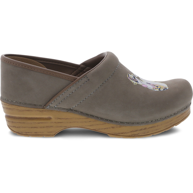 Dansko Women's Twin Pro - Llama Milled Nubuck - 411-241212 - Profile