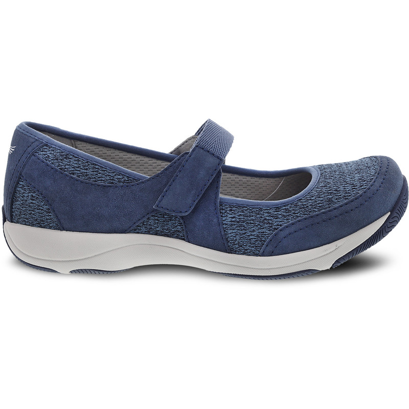 Dansko Women's Hennie - Blue Suede - 4517-057505 - Profile
