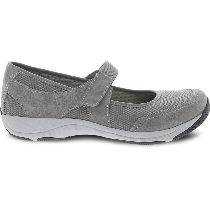Dansko Women's Hennie - Grey Suede - 4517-241024 - Profile