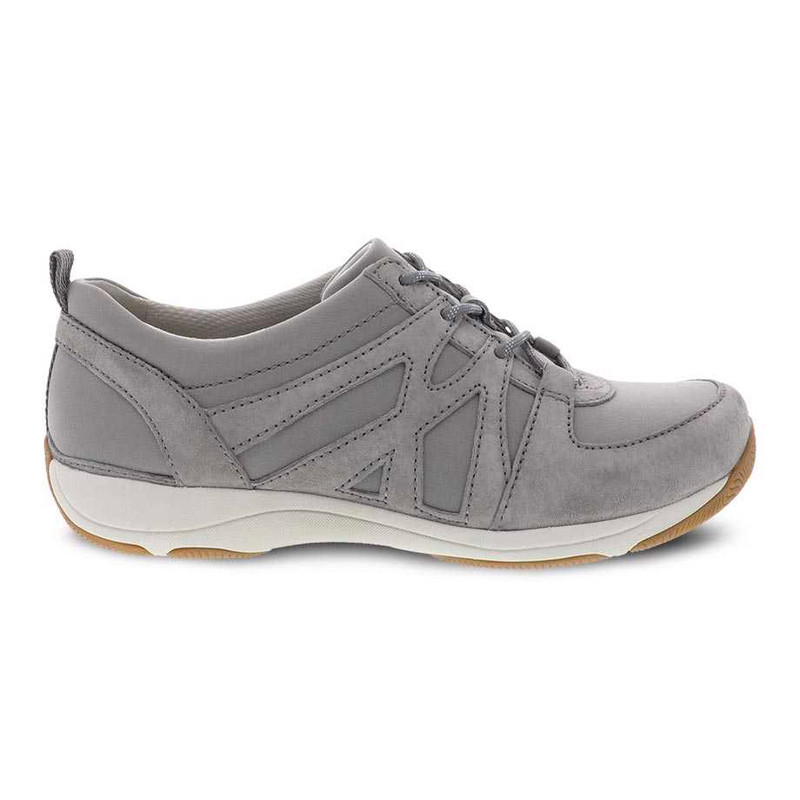 Dansko Women's Hatty - Grey Suede - 4850-940394 - Profile