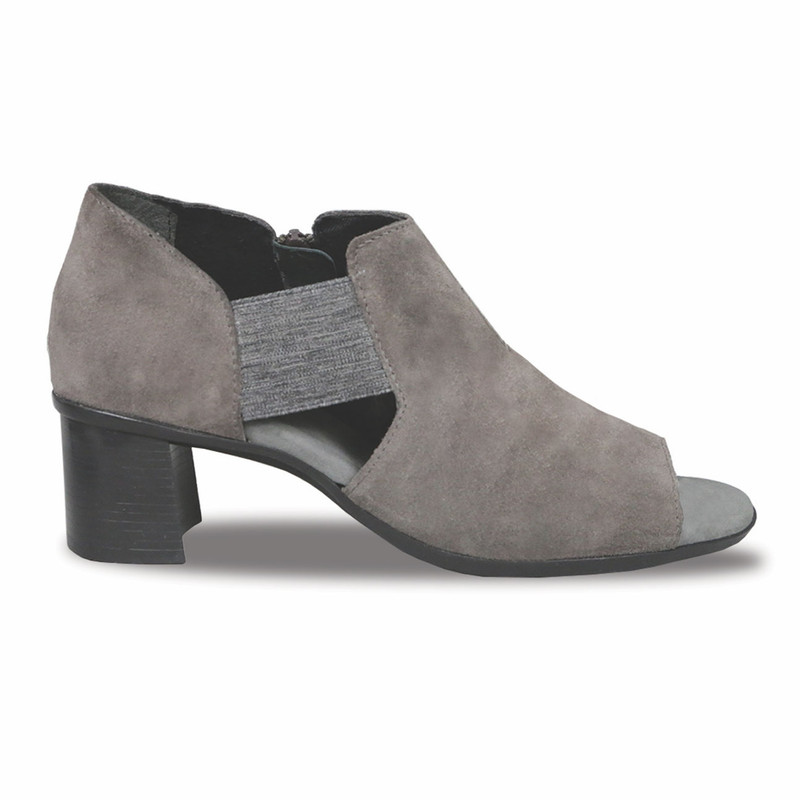 Munro Women's Sable - Ash Grey Suede - M455576 - Profile
