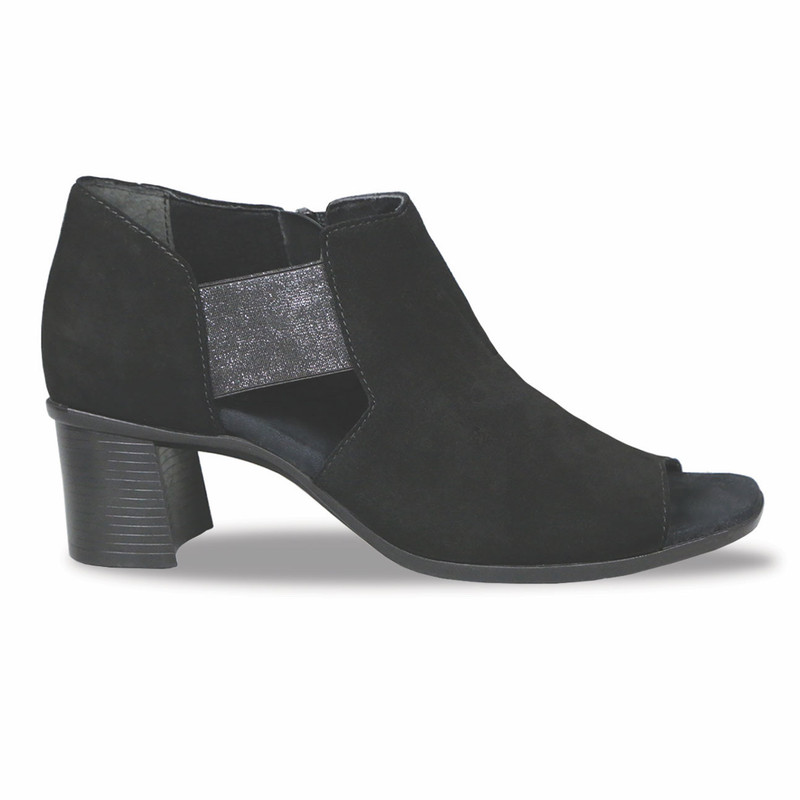 Munro Women's Sable - Black Suede - M455586 - Profile