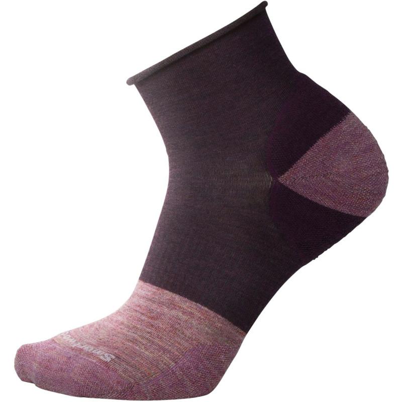 Smartwool Women's Luna Mini Boot Socks - Bordeaux Heather - SW003805-587