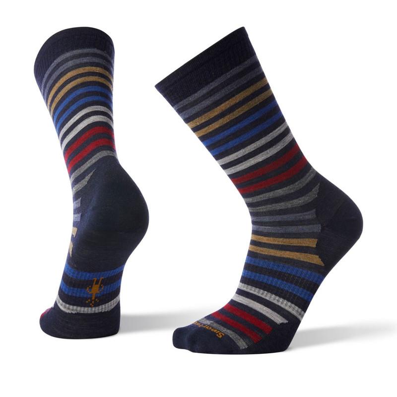 Smartwool Men's Spruce Street Crew Socks - Deep Navy (SW003902-092)