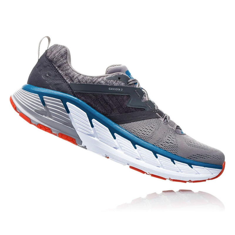 HOKA ONE ONE Men's Gaviota 2 - Frost Gray / Seaport - 1099629-FGSR - Angle