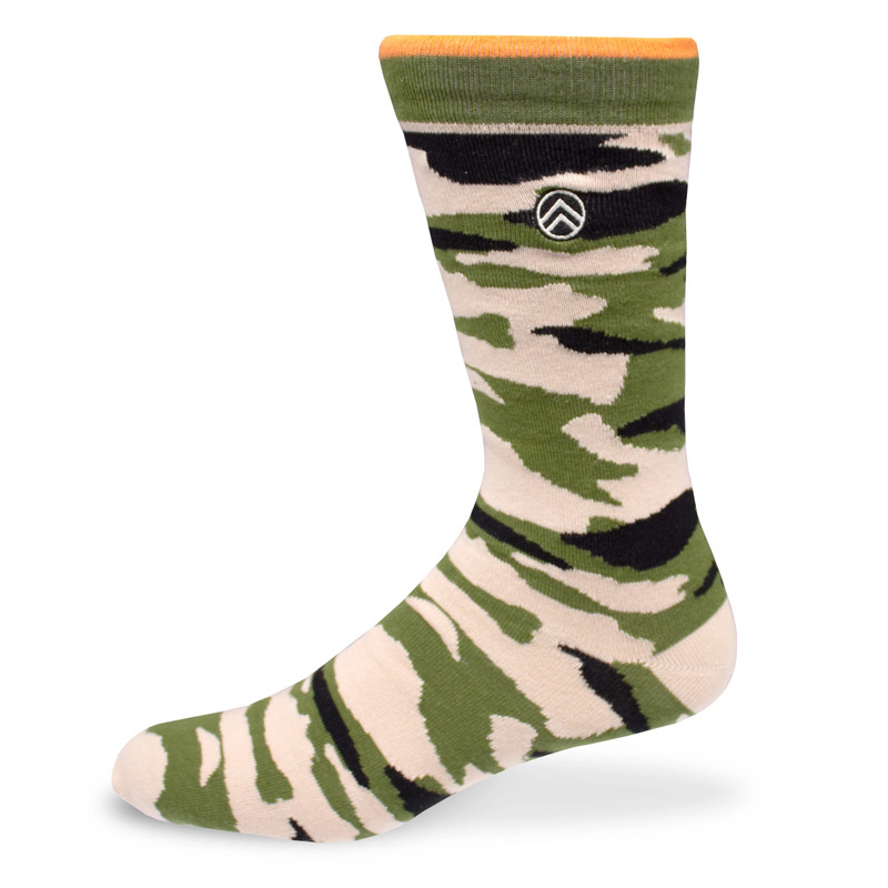 Sky Outfitters Crew Socks - Camo