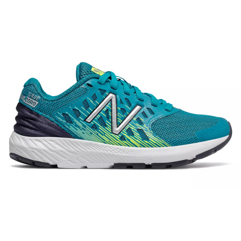 New Balance Kid's FuelCore Urge - Ozone Blue with Hi-Lite - YPURGOH - Profile