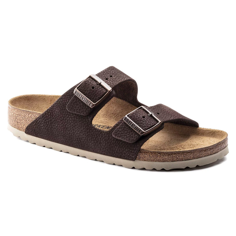 Birkenstock Arizona - Steer Soft Brown (Regular Width) - 1015396 - Angle