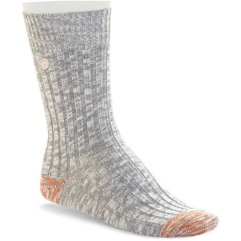 Birkenstock Fashion Slub Sock - Light Grey Melange - 1005818