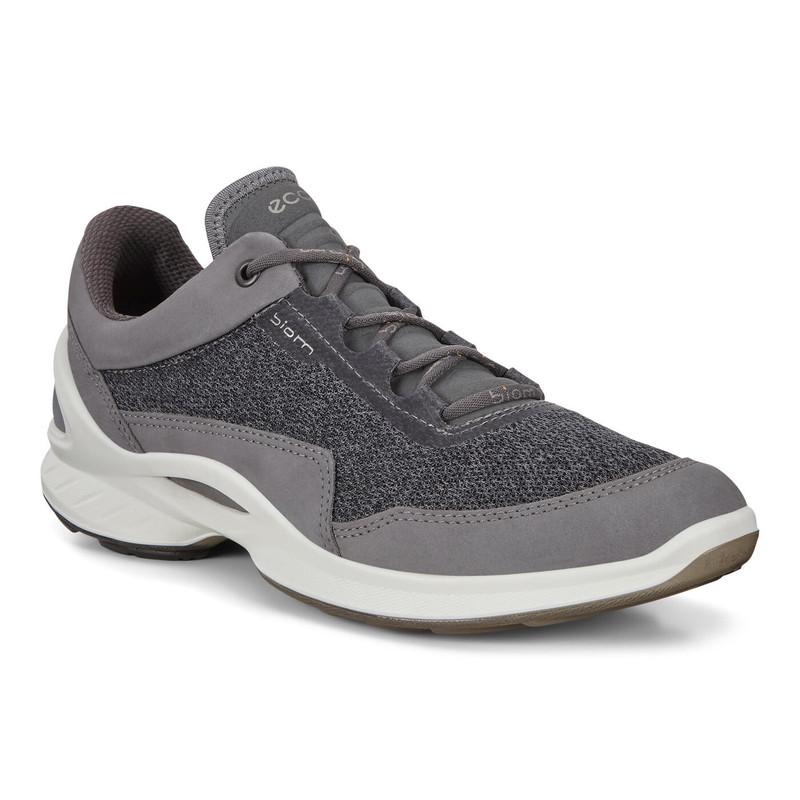 ECCO Women's Biom Fjuel Outdoor Shoe - Titanium - 837603-01244 - Main
