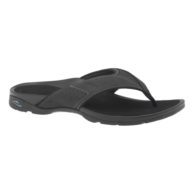 Abeo Women's Balboa - Black (Neutral Footbed) - BALBOA-N-BLACK - Profile