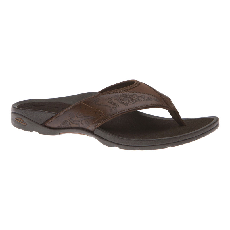 Abeo Women's Balboa - Brown Henna (Neutral Footbed) - BALBOA-N-BROWN - Profile