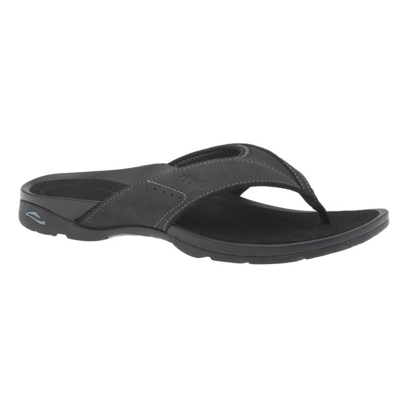 Abeo Women's Balboa - Black (Posted Footbed) - BALBOA-P-BLACK - Profile