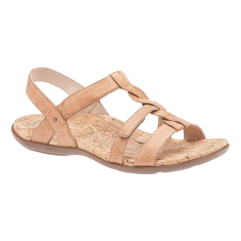Abeo Women's Bea - Tan (Neutral Footbed) - BEA-N-TAN - Angle