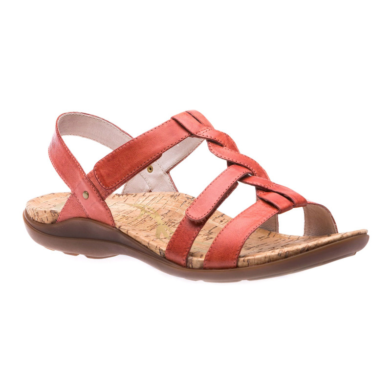 Abeo Women's Bliss - Terracotta (Neutral Footbed) - BEA-N-TERRACOTTA - Angle