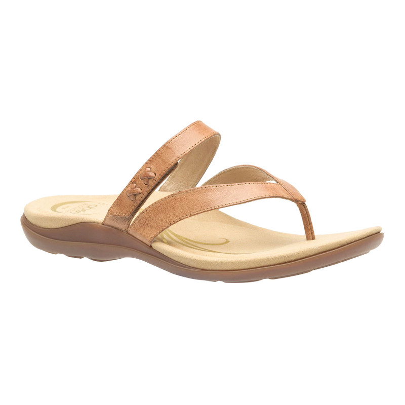 Abeo Women's Benefit - Stone (Neutral Footbed) - BENEFIT-N-STONE - Profile