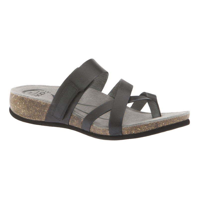 Abeo Women's Bryce - Black (Neutral Footbed) - BRYCE-N-BLACK - Angle