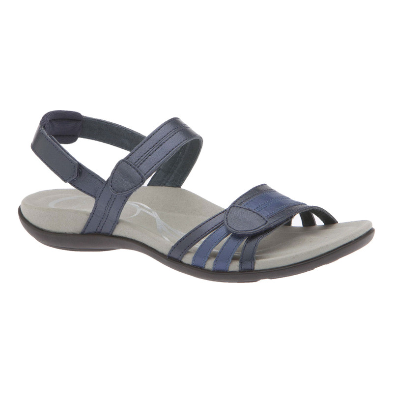 Abeo Women's Brynn - Navy (Neutral Footbed) - BRYNN-N-NAVY - Angle