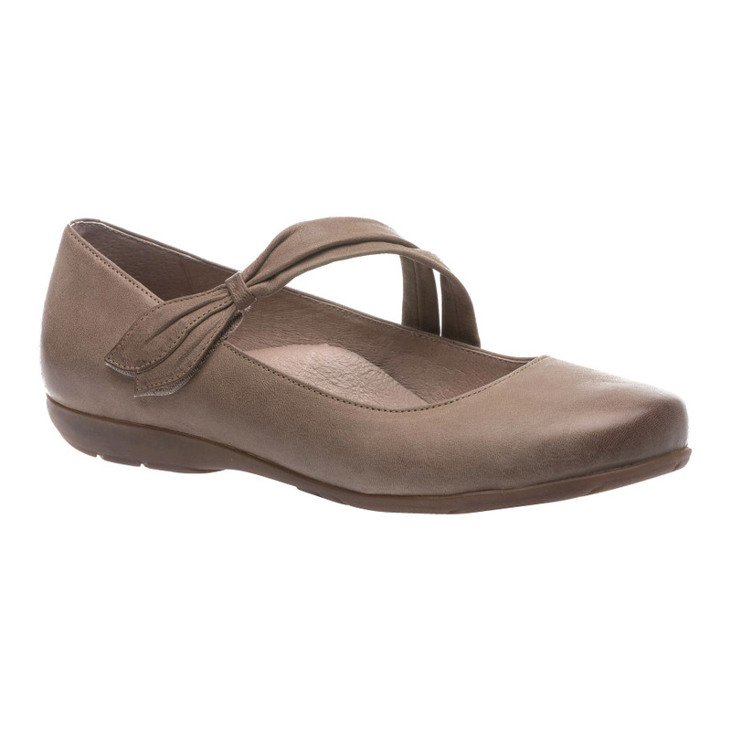 Abeo Women's Talia - Walnut (Neutral Footbed) - TALIA-N-WALNUT - Angle