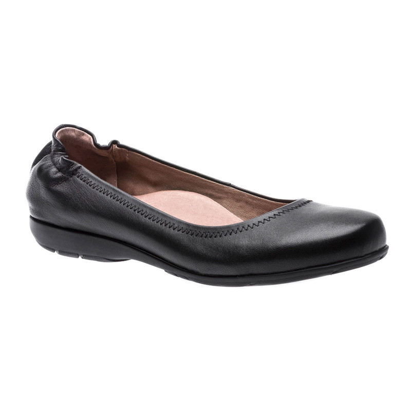 Abeo Women's Tammy - Black (Neutral Footbed) - TAMMY-N-BLACK - Angle