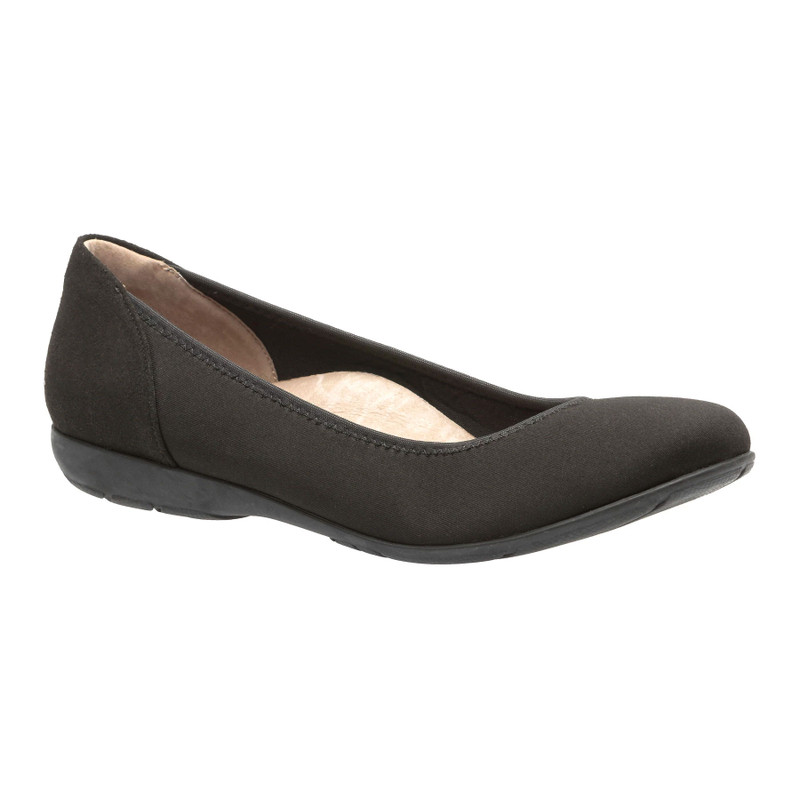 Abeo Women's Tangier - Black (Neutral Footbed) - TANGIER-N-BLACKF - Angle