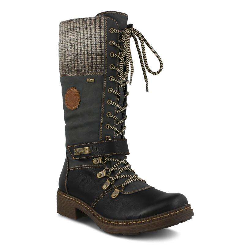 Spring Step Women's Ababi Boot - Black - ABABI-B - Angle