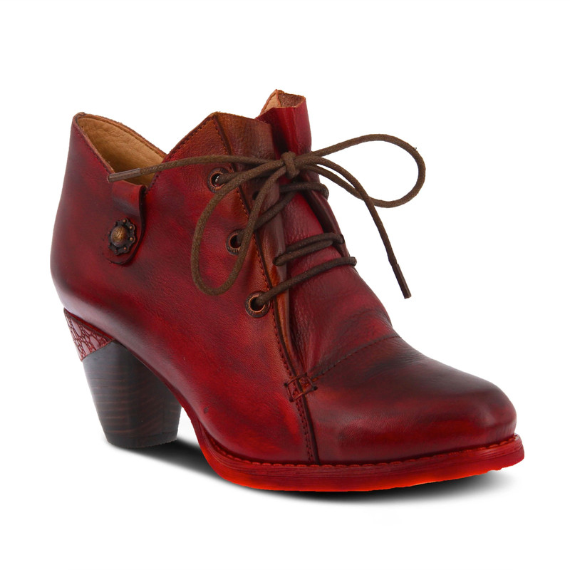 Spring Step Juliane Shootie - Dark Red - JULIANE-DRD - Angle