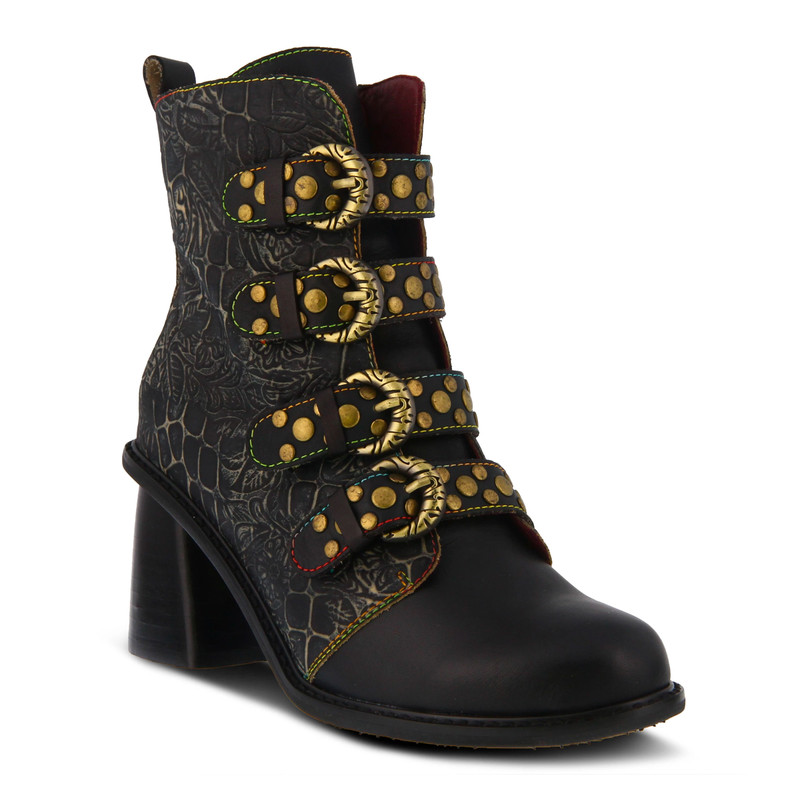 Spring Step Women's Wonderland Boot - Black Multi - WONDERLAND-BM - Angle