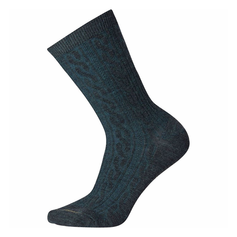 Smartwool Women's Cable II Socks - Everglade (SW0SW672-B96