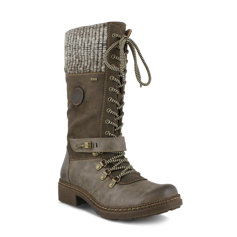 Spring Step Women's Ababi Boot - Taupe - ABABI-TP - Angle